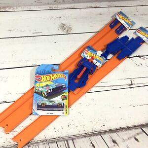 Mattel Hot Wheels Track Lot 1 Launcher 1 Loop Builder 1 Track Set 1 El Camino