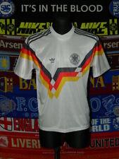 5/5 Germany Deutschland adults M 1988 original football shirt trikot soccer