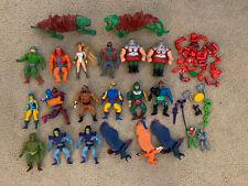 Vintage lot He-Man Masters of the Universe figures Half Boot Skeletor Heman.