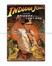 V609 Indiana Jones Raiders of the Lost  Movie shrink-wrapped Art fabric poster
