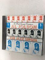 Al Jolson-The Jazz Singer  CD Near Mint Condition