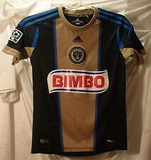 Philadelphia Union Blue Sewn MLS Soccer Jersey Shirt Youth Kids M