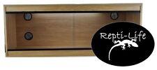 Repti-Life Vivarium 48x24x24 in Oak, 4ft vivarium