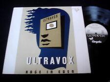 ULTRAVOX/RAGE IN EDEN/GERMAN PRESS