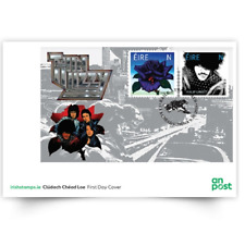 GENUINE Thin Lizzy FDC Miniature Sheet - 50th Anniversary Stamps Phil Lynott