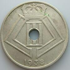 1938    Belgio Belgique Belgie   25  centesimi   centimes