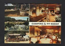 "QUERRIEN (29) CAMPING ""LE TY-NADAN"" SALLE RESTAURANT-CREPERIE"