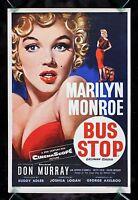 BUS STOP * CineMasterpieces ORIGINAL MOVIE POSTER UK DOUBLE CROWN MARILYN MONROE