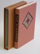 Washington Irving THE ALHAMBRA Heritage Press in Slipcase w/ Sandglass