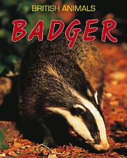 Leach, Michael, Badger (British Animals), Very Good Book
