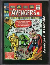 AVENGERS ASSEMBLE MARVEL 2005 DOLLAR GENERAL EX DIGEST MINI COMIC 60's TALES NM-