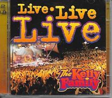 THE KELLY FAMILY - Live Live Live (2 x CD) 30TR Europe 1998 (Kel-Life)