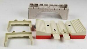 Hot Wheels Bridge/Lap Counter/Supports 1960's