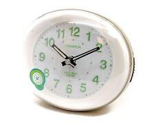 Champion Alarm Clock Gold Silent Sweeping Non Ticking Illuminated Crescendo