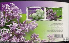 Canada Stamps — Souvenir Sheet — Flowers, Lilacs  #2206  — MNH