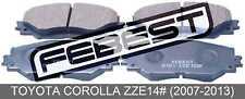 Pad Kit, Disc Brake, Front For Toyota Corolla Zze14# (2007-2013)