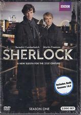 SHERLOCK - SEASON I & 2 (DVD) (M4)