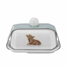 Wrendale by Royal Worcester Butter Dish - Calf