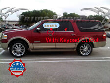 2003-2017 Ford Expedition w/keypad Window Sill Trim Accent Overlay Chrome 4Pc