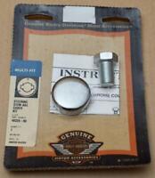 Harley original Chrom Kappe für Lenkkopfschraube Steering Stem Cover Kit