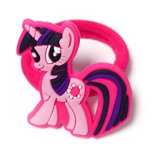 Elastic Rubber Girl Hair Band Pink Hair Headbands Accessories Kids Cartoon Gift