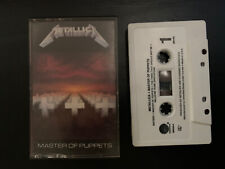 Master Of Puppets By Metallica - Elektra 1986 - Used