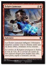 MTG Magic DTK FOIL - Twin Bolt/Éclairs jumeaux, French/VF