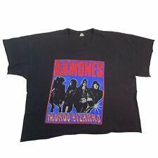 """Vintage Ramones """"Mando Bizarro"""" T-Shirt NYC CBGB Social Distortion Misfits"""