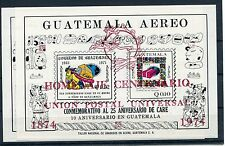 Guatemala Block 16 A + b postfrisch / UPU ................................1/2712
