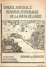 PARQUE NATURAL Y RESERVAS INTEGRALES DE LA BAHIA DE CADIZ # 1192