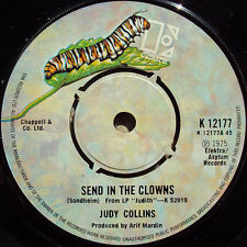 "Judy Collins ‎– Send In The Clowns 7"" NM"
