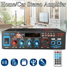 Audio Power Amplifiers With Remote Control Home Theaters Support FM USB SD Cards