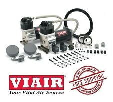 VIAIR 150PSI 2.96CFM 280C Dual Performance Value Pack 28002 Black on Silver