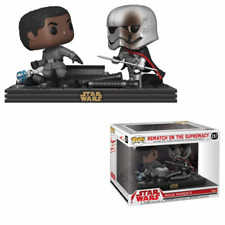 Funko Pop Rematch on The Supremacy 257 Star Wars Movie Moments Phasma Finn #1