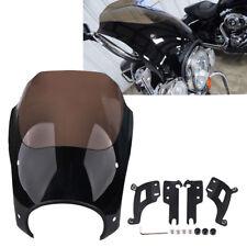 for Harley FLHR Road King Classic Bullet Headlight Fairing W/ Bracket Haredware
