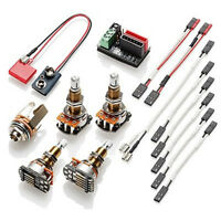 EMG Wiring Kit for 1-2 Active Pickups - Long Shaft