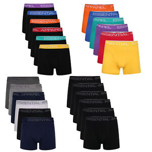 Mens 6 Pack Boxer Shorts Underwear Underpants Trunks Multipack Boxers Size S-4XL