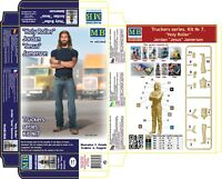 Master Box — Truckers series Jordan Jesus — Plastic model kit 1:24 Scale #24060