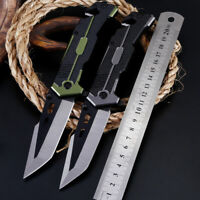 Blade Camping Fruit Survival Folding Pocket Knife Multi-Use Portable Outdoor 2B