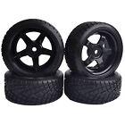 4PCS RC 1/10 On-Road Car Hard Plastic Drift Tyre Tires & Wheel Rim 6030-6013