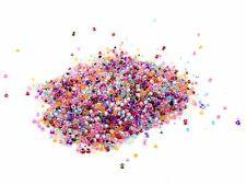 30g x 2 mm clair avec à l'intérieur de la couleur aléatoire verre semences DURACOAT taille P124