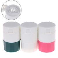 Píldora Medicina Trituradora Divisor Tableta Cortador Caja de Almacenamie*QA