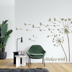 Dandelion Stencil Flower Wish Paint Wall Furniture Reusable Crafts Art Card FL29