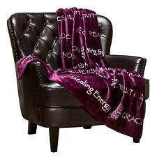 Chanasya Cozy Soft Warm Hugs Positive Energy Healing Support Throw Blanket Gift