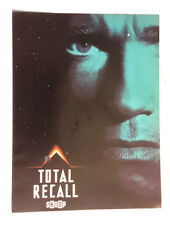 Original Total Recall Movie Book from Netherlands- 8 Pages in Color (E1236)