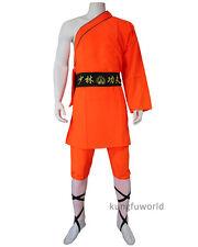Men's Shaolin Monk Robe Kung fu Suit Martial arts Wushu Wing Chun Uniforms