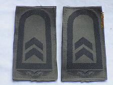 Bw - insignias: Sargento, Fuerza aérea, negro /oliv,Cierre adhesivo