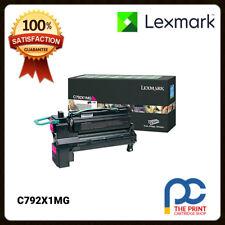 New & Original Lexmark C792X1MG Magenta Extra High Yield Toner C792 C792dhe 20K