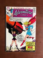 Adventure Comics #385 (1969) 7.5 VF DC Key Issue Silver Age Comic Supergirl