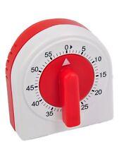 Atlanta Medidor kochuhr Blanco Rojo Reloj 251 Reloj 60 minutos cronómetro NUEVO